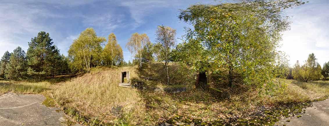 NVA FLA Raketenstellung Klosterfelde